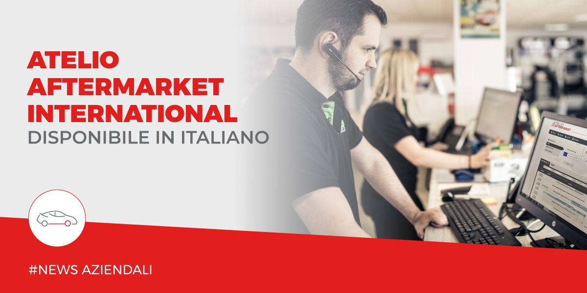 Catalogo internazionale Atelio Aftermarket International