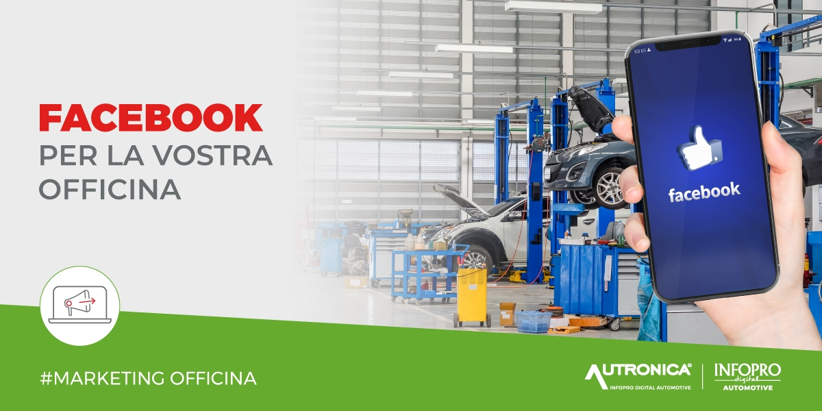 Facebook per autofficina