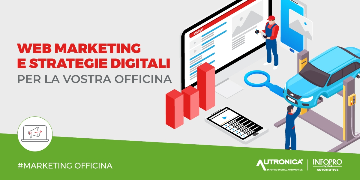 Web marketing e strategie digitali per officina